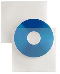 BUSTA PORTA CD SELFTI 1/PAD.RETRO ADESIVO CF.25