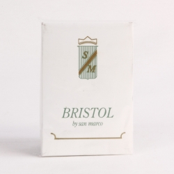 BIGLIETTO VISITA BRISTOL 7X11 B CF.10