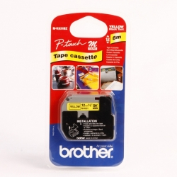 NASTRO BROTHER 12MM MK-631 NERO/GIALLO
