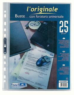 BUSTA FORATURA UNIVERSALE 22X30 MOD.TOP L'ORIGINALE CF.25