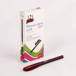 PENNA SFERA IN-LINEA 1 MM CF.12 *ROSSA