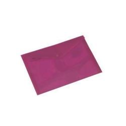 CARTELLA PLASTICA CON BOTTONE PULL A4 ASS. CF.5