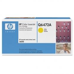 TONER HP 3600/3800 GIALLO Q6472A