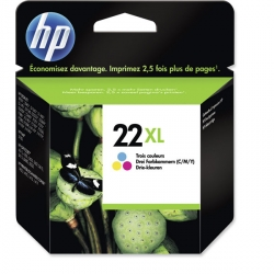 CARTUCCE HP N.22 XL COLORE 0,415K C9352C