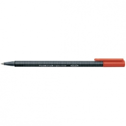 PENNARELLO ROLLER STAEDTLER TRIPLUS ROSSO CF.10