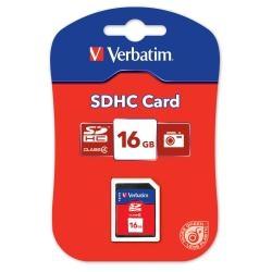 SCHEDA VERBATIM SD 16GB 43962