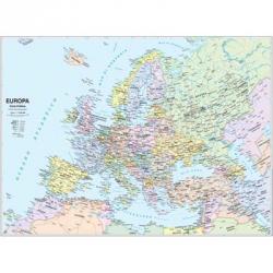CARTINA GEOGRAFICA CWR 100X140 EUROPA ART.06991