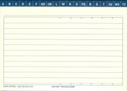 SCHEDA DATA UFFICIO MODELLO 1510,1 H105X148 CF.100