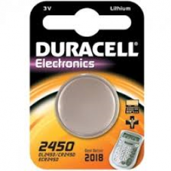 PILA MINI A LITIO DURACELL CR 2450