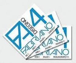 ALBUM DISEGNO FABRIANO F4 33X48 SQUADRATO FF20 G220