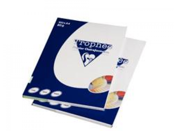 RISMA CLAIREFONTAINE TROPHE A4 G80 FF100  ASSORTITI FLUO