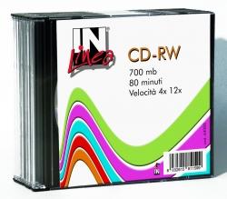 CD-RW IN UFFICIO RISCR 700MB SLIM