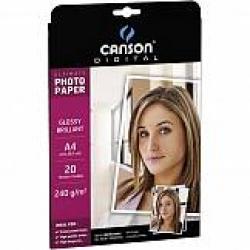 CARTA INKJET CANSON PHOTO SATINATA A4 G270 FF20