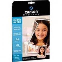 CARTA INKJET CANSON PHOTOGLOS A4 G210 FF20