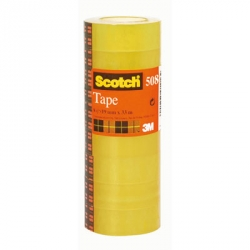 NASTRI ADES.PPL TRASP.15X66 3M SCOTCH ART.550 CF.10