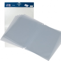 INSERTI DOPPI SECURIT PER  PORTA MENU' TRENDY A4 IN PVC CF.10