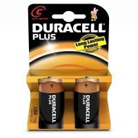 PILA DURACELL M/TORCIA 1,5V C BLISTER 2