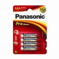 PILA PANASONIC M/STILO 1,5V AAA LR03 PROPOWER BLISTER 4