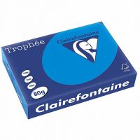 RISMA CLAIREFONTAINE TROPHE A4 G80 FF500  TURCHESE