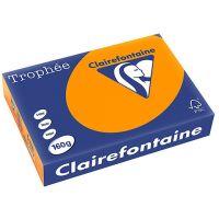 RISMA CLAIREFONTAINE TROPHE A4 G160 FF250 ARANCIO