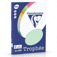 RISMA CLAIREFONTAINE TROPHE A4 G160 FF50  VERDE