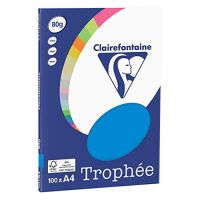 RISMA CLAIREFONTAINE TROPHE A4 G80 FF100  TURCHESE