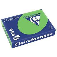 RISMA CLAIREFONTAINE TROPHE A4 G80 FF500  VERDE MENTA
