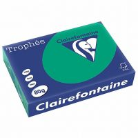 RISMA CLAIREFONTAINE TROPHE A4 G80 FF500  VERDE ABETE