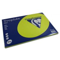 RISMA CLAIREFONTAINE TROPHE A3 G80 FF100  GIALLO FLUO
