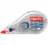 CORRETTORE TIPP-EX MINI POCKET MOUSE 5MM X 6MT BIC