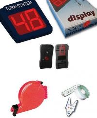 KIT DISPLAY DIGITALE LED SEGNATURNO+ RADIOCOMANDO+CHICCIOLA
