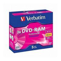 DVD -RAM VERBATIM RISC.SING.FAC.4,7GB CF.5