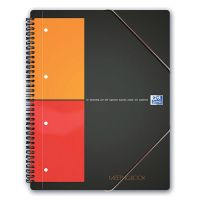 BLOCCO OXFORD 21X29 SPIRALE 160FF 5M 4 FORI MEETINGBOOK