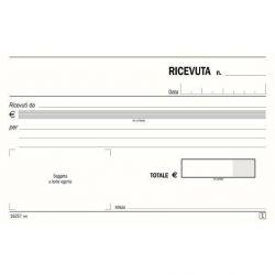 BLOCCO RICEVUTA GENERICA 2 COPIE RICALCANTI 17X12 1288,2
