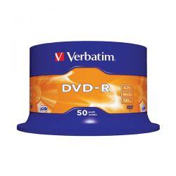 DVD-R VERBATIM CAMP.50PZ 16X PRINT AZO 43533/50