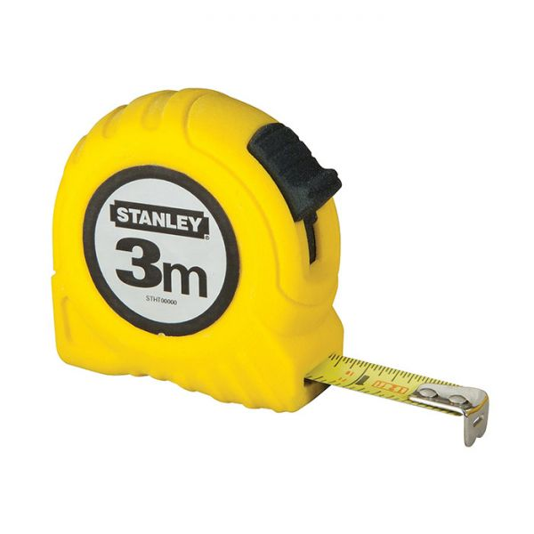 FLESSOMETRO STANLEY METALLO/ABS MT.3
