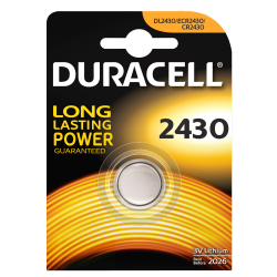PILE A LITIO DURACELL CR2430