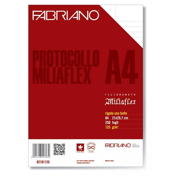 CARTA LEGALE FABRIANO A4 G125 FF250 PROTOCOLLO