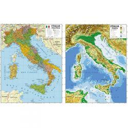 CARTINA GEOGRAFICA CWR 100X140 ITALIA ART.06990