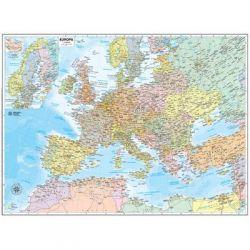 CARTINA MURALE EUROPA 63X50