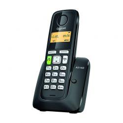 TELEFONO CORDLESS SIEMENS GIGASET AS 160  NERO