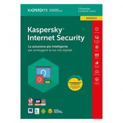 KASPERSKY INTERN.SECUR.2018 1Y 3PC RENEW . KL1941T5CFR-8SL