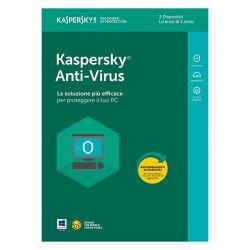 KASPERSKY ANTIVIRUS 2018 1Y 3PC KL1171T5CFS-8SL