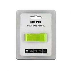 LETTORE MEMORY CARD USB VERDE 10NXCRQ100002