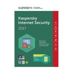 KASPERSKY INT.SECUR 2017ITA 3-DESK 1YEAR  RINNOVO KL1941TBCFR-7SL