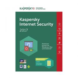 KASPERSKY INTERN.SECUR.2017 1Y 5PC KL1941TBEFS-7SL