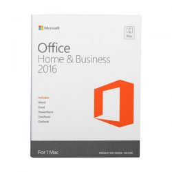 PROGRAMMA OFFICE MAC HOME AND BUSINESS 2016 MEDIALESS-BOX