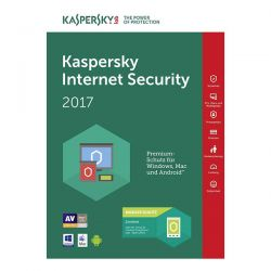 KASPERSKY INT.SECUR 2017ITA 3-DESK 1YEAR  KL1941TBCFS-7SL