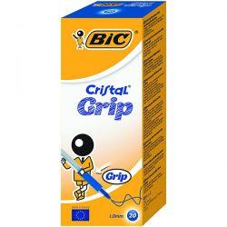 PENNA SFERA BIC CRISTAL GRIP BLU CF.20