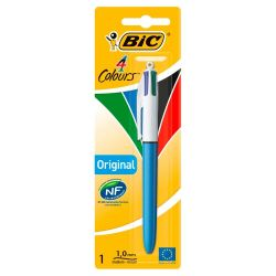PENNA A SFERA BIC MEDIUM 4 COLORI BLISTER